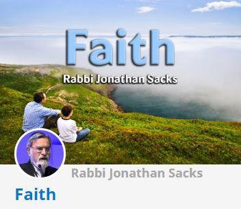 Rabbi Lord Sacks - Faith