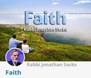 Rabbi Lord Sacks - Faith